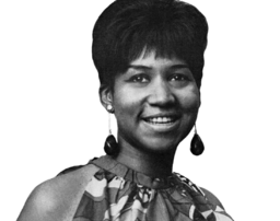 A young Aretha Franklin smiling for the camera. At 75 years of age she is reinventing retirement
